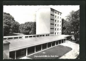 AK Hütteldorf, Jugendgästehaus der Stadt Wien, Schlossberggasse 8
