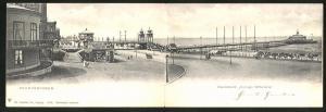 Klapp-AK Scheveningen, Wandelhoofd Koningin Wilhelmina, Seebrücke