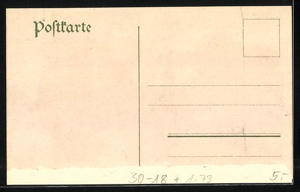 Lithographie Fröschweiler, Kronprinz Friedrich Wilhelm am Abend des 6. August 1870 1