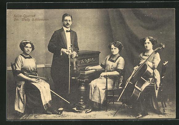 AK Salon-Quartett, Dir. Wally Schliemann 0
