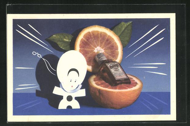 AK Reklame für Liqueur Cointreau 0