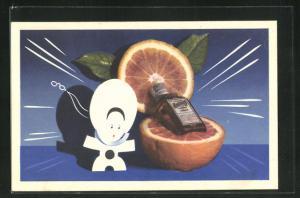 AK Reklame für Liqueur Cointreau