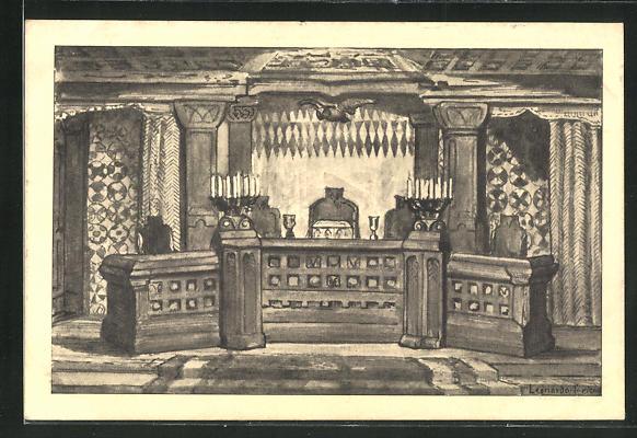 AK Zürich, VIII. Konzil Allschlaraffias und Feyer der 1000. Sippung der Turicensis a. U. 55, Sitzungssaal 0