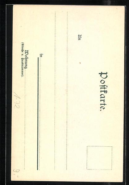AK Menschen jubeln zu Kaiser Wilhelm I., 1797 - 1897 1