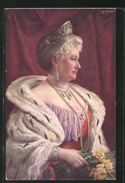 AK Portrait Kaiserin Auguste Victoria Königin von Preussen 0