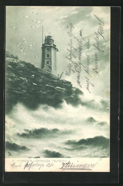 AK Falmouth, St. Anthony`s Lighthouse, Leuchtturm 0