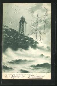AK Falmouth, St. Anthony`s Lighthouse, Leuchtturm