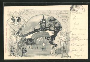 AK Neuchatel, Tir Federal 1898, Festhalle