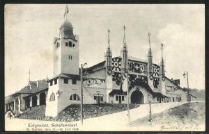 AK St. Gallen, Eidgenöss. Schützenfest 1904, Festhalle