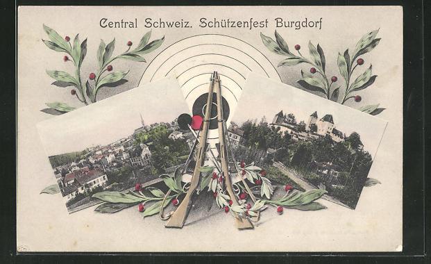 AK Burgdorf, Central Schweiz. Schützenfest 0