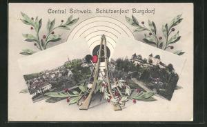 AK Burgdorf, Central Schweiz. Schützenfest