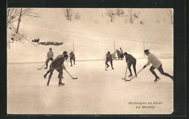 AK St-Cergue, Le Hockey, Eishockeyspieler 0