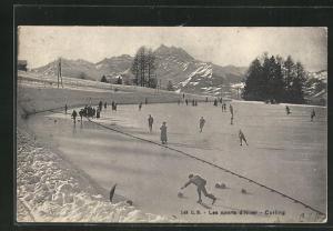 AK Les sports d`hiver: Curling, Eisstockschiessen