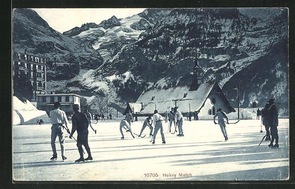 AK Hockeyspieler beim Match 0