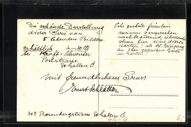 AK St. Gallen, Eidg. Turnfest 1922, Plastische Bilder 1