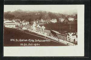 AK St. Gallen, Eidg. Schützenfest 1904, Festgelände