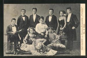 AK Süd-Variete- und Possen-Ensemble Fortuna