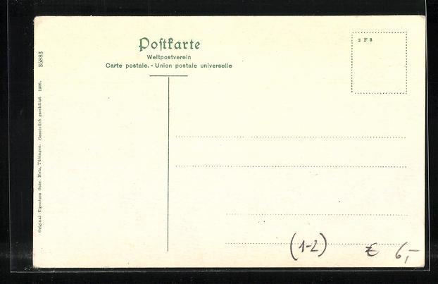 AK Jubiläumskarte zum 80. Geburtstag des Grossherzogs Friedrich von Baden 1906 1