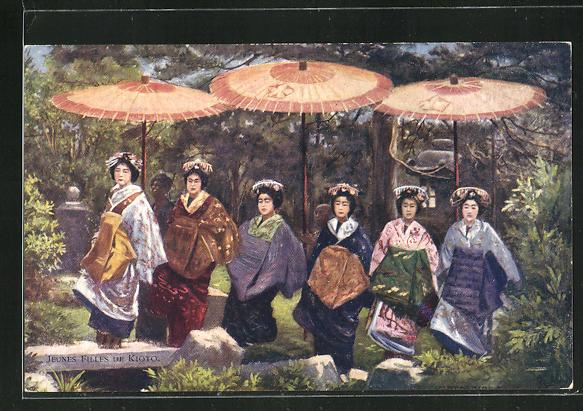 AK Jeunes Filles de Kioto, Geishas 0