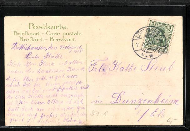 Lithographie Gutacherin, Neustädterin und Schapacherin in Volkstracht, Kleeblatt 1
