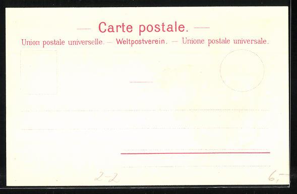 Lithographie Les Premiers Timbres Poste de la Suisse, Wappen 1