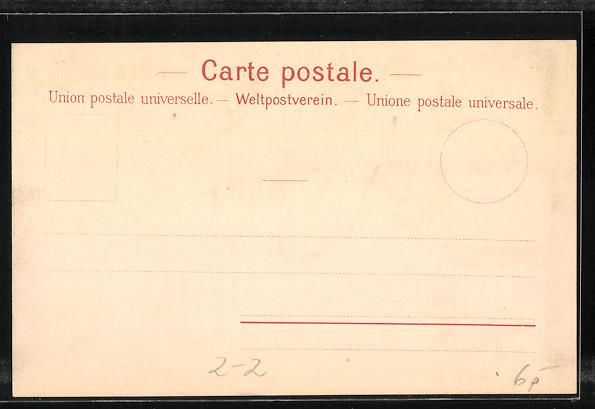 Lithographie Briefmarken Post de Geneve 1