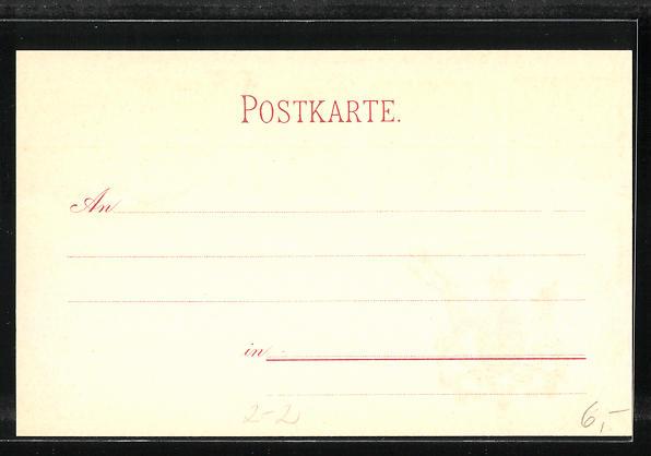 Lithographie Die ersten Briefmarken von Würtemberg, Wappen 1