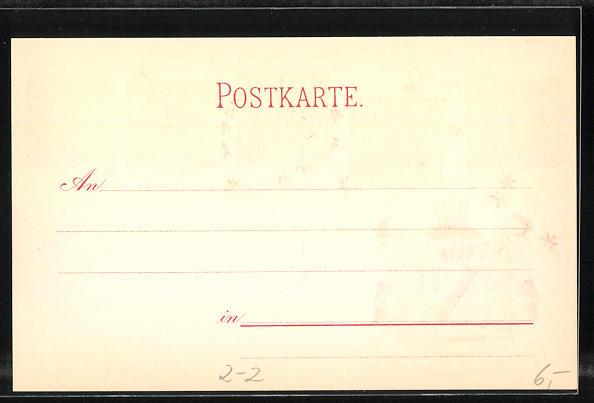 Lithographie Die ersten Briefmarken von Baden, Wappen 1