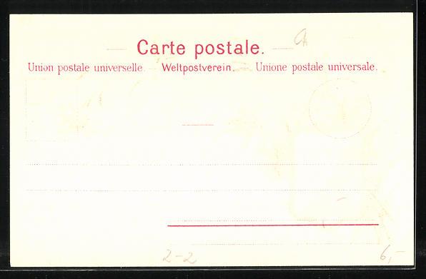 Lithographie Die ersten Briefmarken der Schweiz, Canton Zürich, Wappen 1
