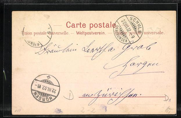 Lithographie Briefmarken Stadt-Post-Basel, Poste de Geneve & Poste Locale 1