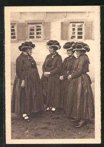 AK Schwarzwald, Gutacher Bäuerinnen