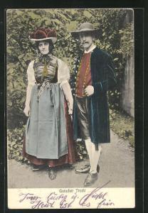 AK Gutacher Tracht, Eheleute