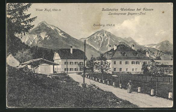 Bild zu AK Weisshaus, Zol...
