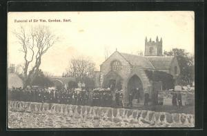 AK Bart., Funeral of Sir Wm. Gordon