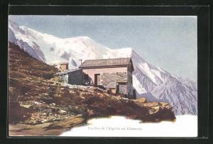 AK Aiguille sur Chamonix, Pavillon d`Aiguille sur Chamonix, F. -L. Cailler, Schweizer Milch-Chocolade