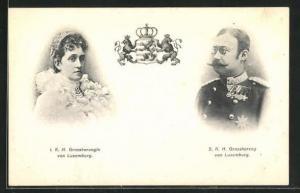AK I. K. H. Grossherzogin und S. K. Grossherzog von Luxemburg
