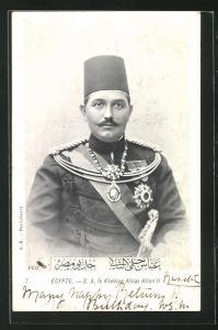 AK Ägypten, S. A. Le Khedive Abbas Hilmi II