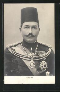 AK Ägypten, Portrait Khedive