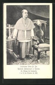 AK Ilustrisimo Senor Dr. Dn. Romulo Betancourt y Torres, 20. Obispo de Campeche, Gest. 1901