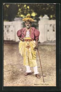 AK Ceylon, Kandyan Chief