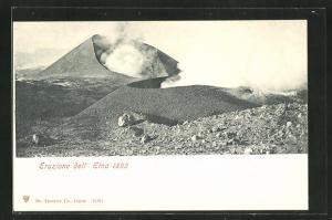 AK Vulkan Etna, Eruzione 1892