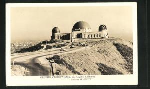 AK Los Angeles, California, Griffith Observatory, Observatorium