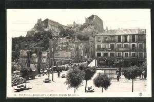 AK Toledo, Spanischer Bürgerkrieg, Zerstörter Alcázar