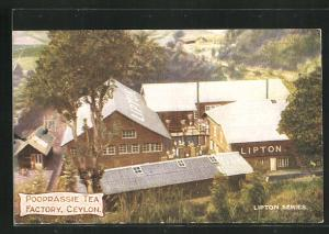 AK Pooprassie Tea Factory, Ceylon, LiptonTee-Fabrik
