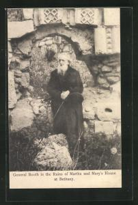 AK Bethany, General Booth in the Ruins of Martha and Mary`s House, Heilsarmee, Religion