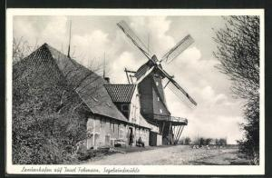 AK Fehmarn-Lemkenhafen, Segelwindmühle