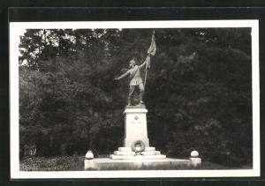 AK Saarbrücken, Ehrental Denkmal des 70er Regts.