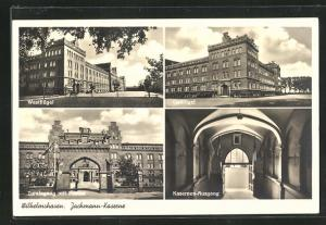 AK Wilhelmshaven, Jachmann-Kaserne, Westflügel, Kasernen-Ausgang
