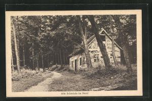 AK Bückeburg, Alte Schmiede im Harrl