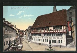 AK Stolberg a. Harz, Rathaus